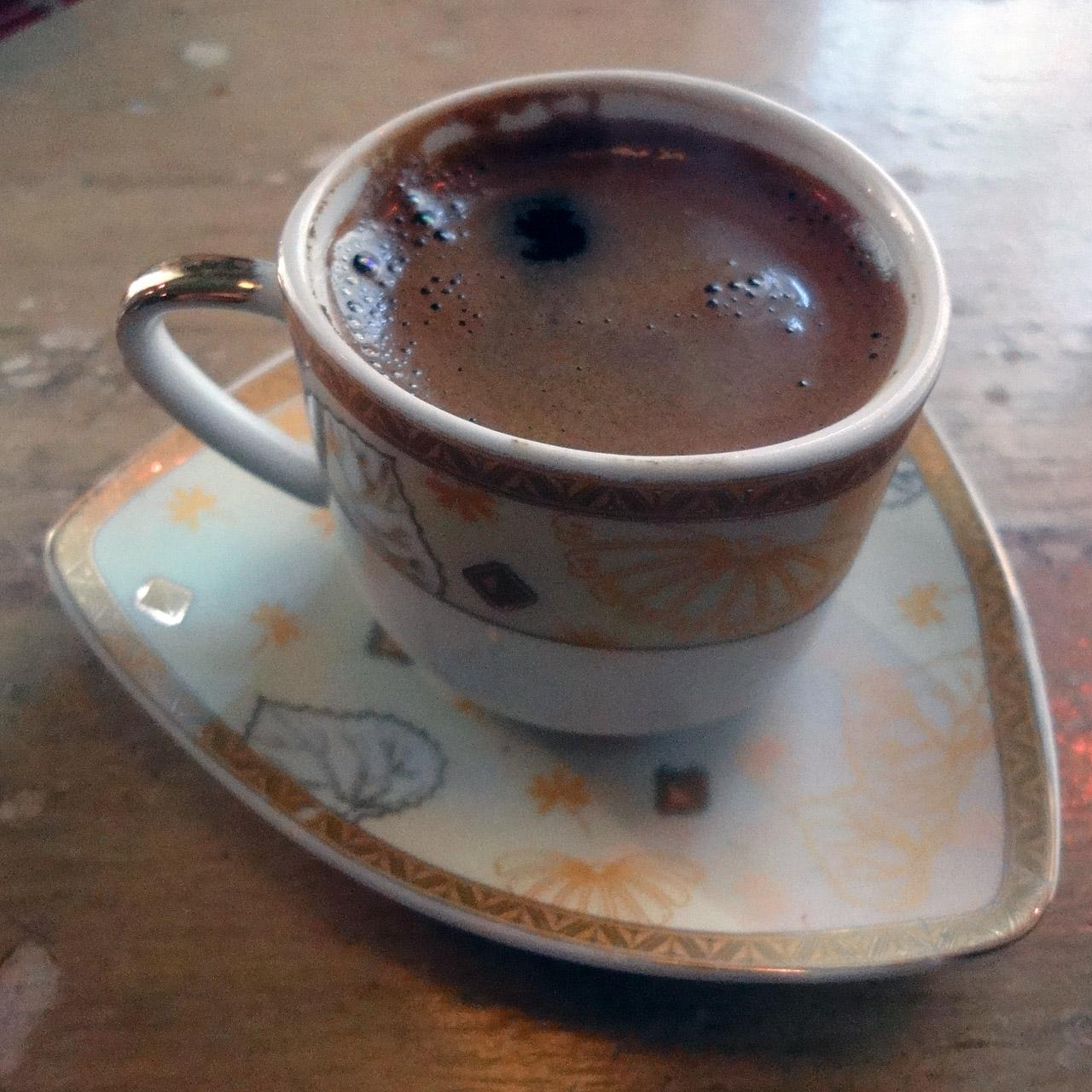 Antiokia Atabar, Helsinki: Turkkilainen kahvi