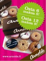 Arnolds Bakery & Coffee Shop Rajalla, Tornio