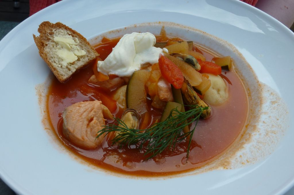 Ravintola L'Escale, Nauvo: Bouillabaisse