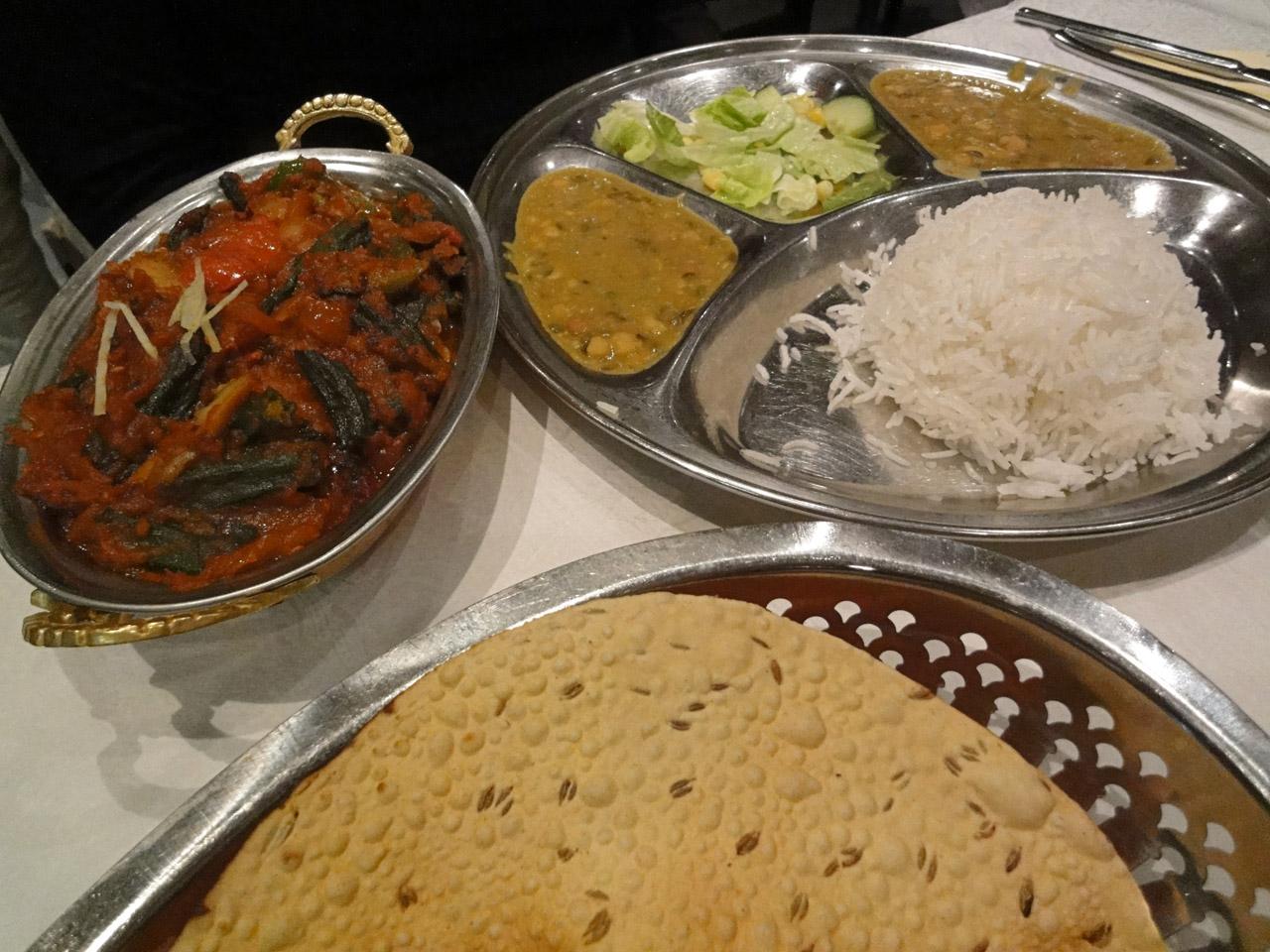 Yeti-Nepal, Helsinki: Bhindi masala