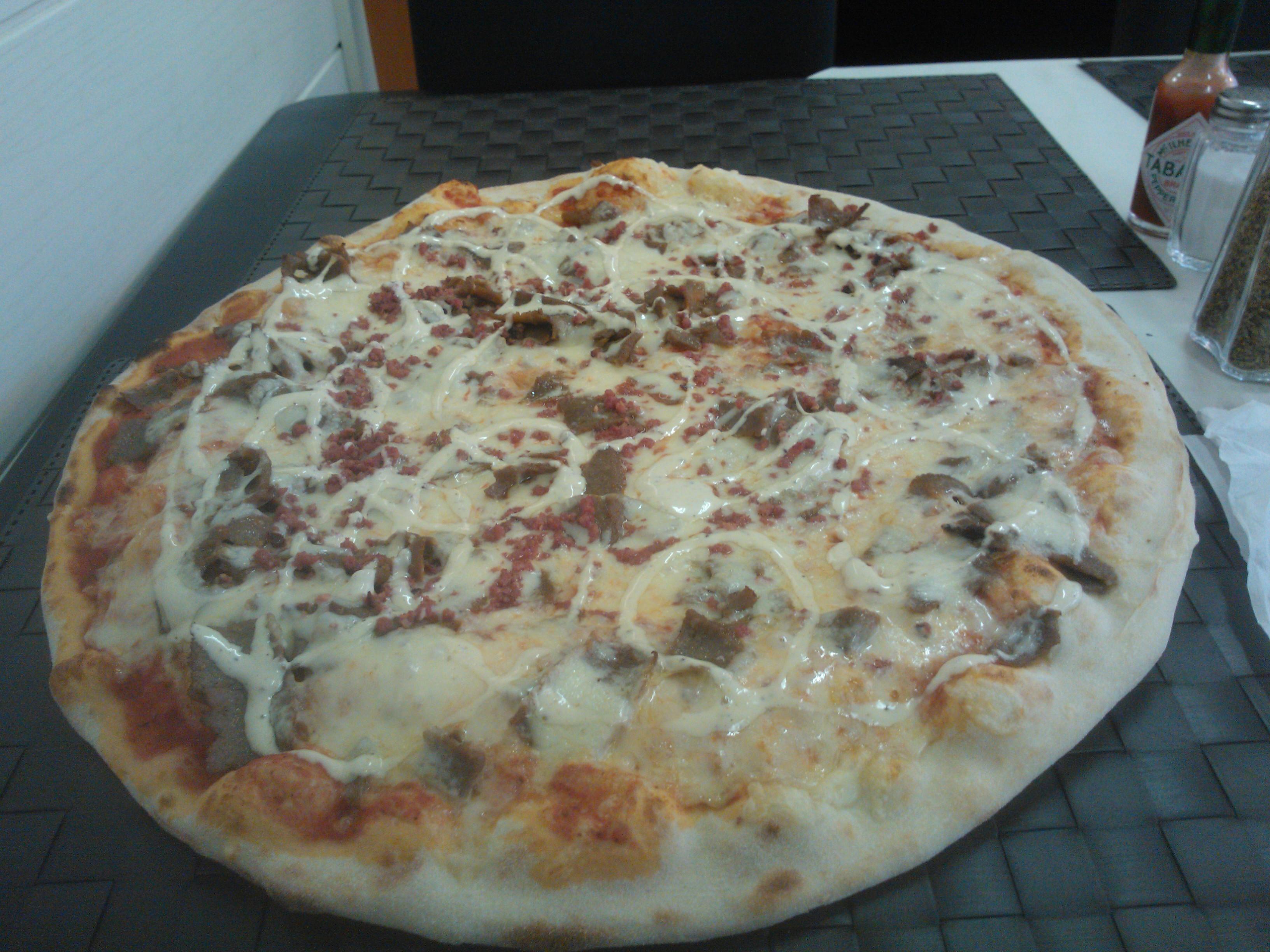 Pizzeria Arezzo, Turku: Nupelda poropizza