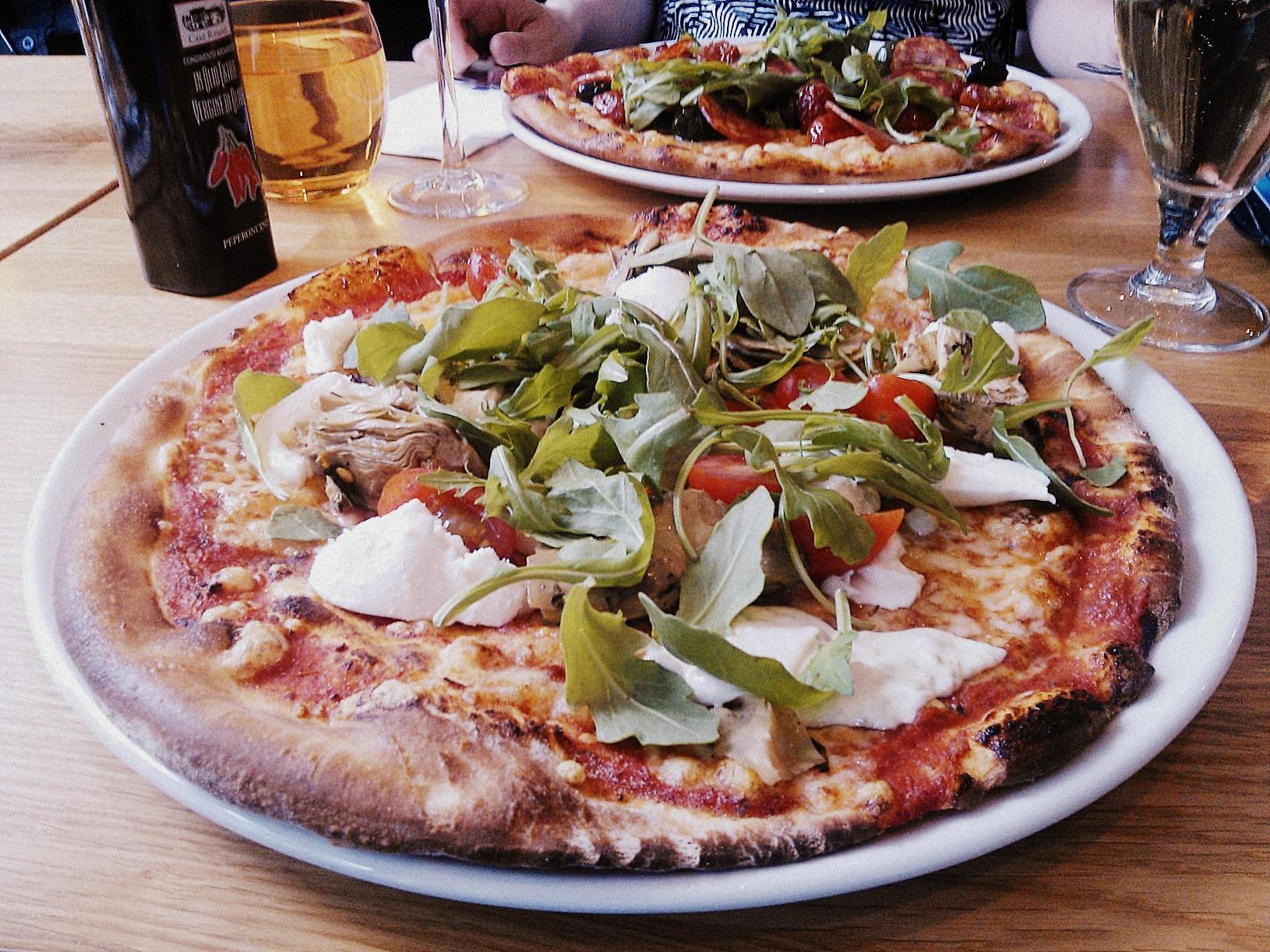 Ravintola Ranta, Espoo: Mozzarella Pizza