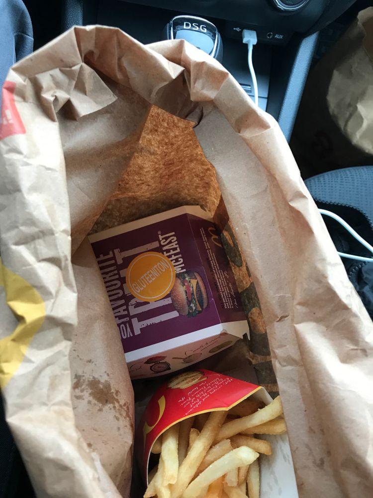 McDonald's Järvenpää, Järvenpää: Iso McFeast-ateria.