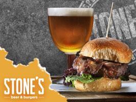 Stone's beer & burgers, Helsinki