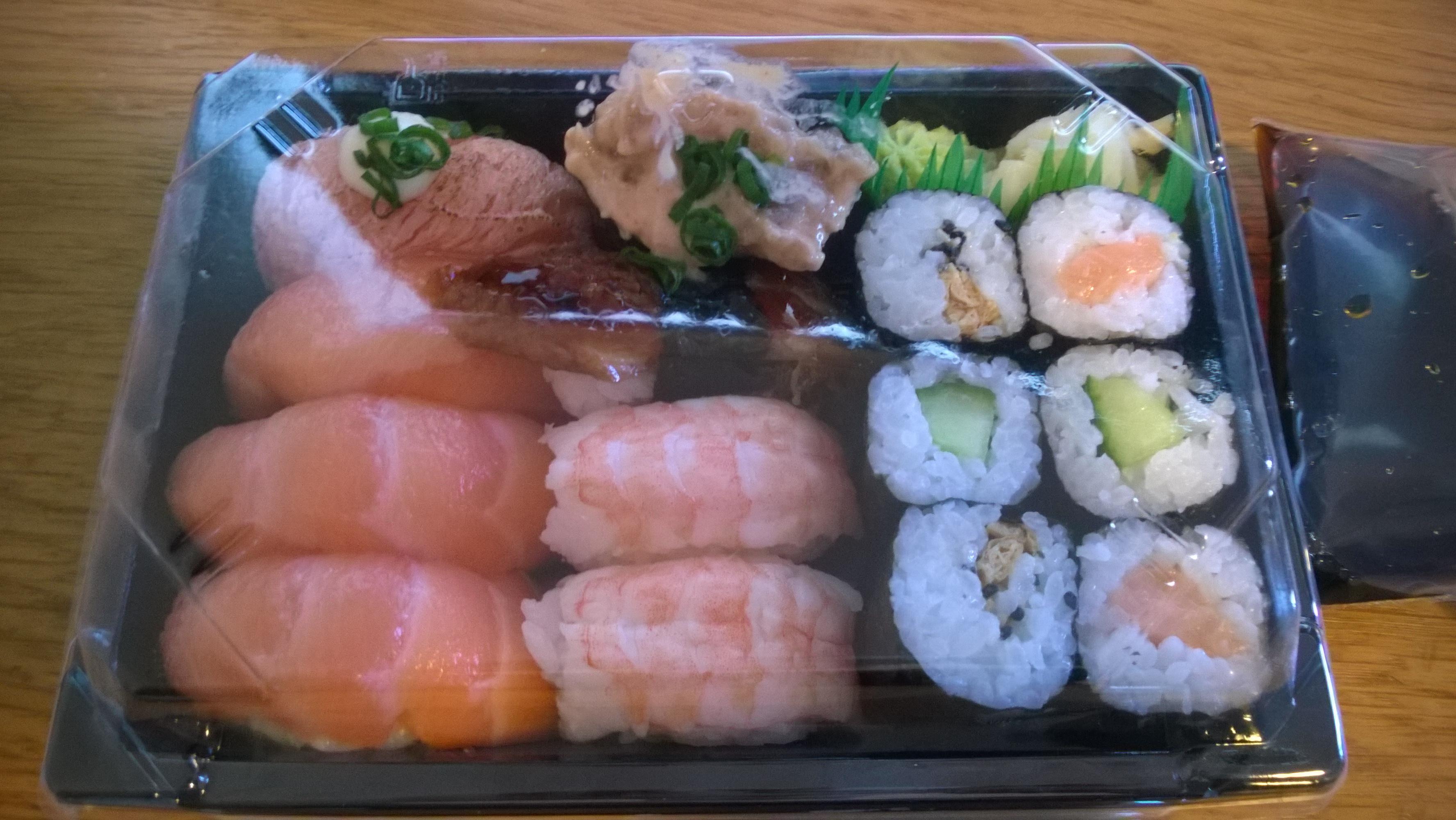 LN-Sushi Art, Espoo: Meal 3