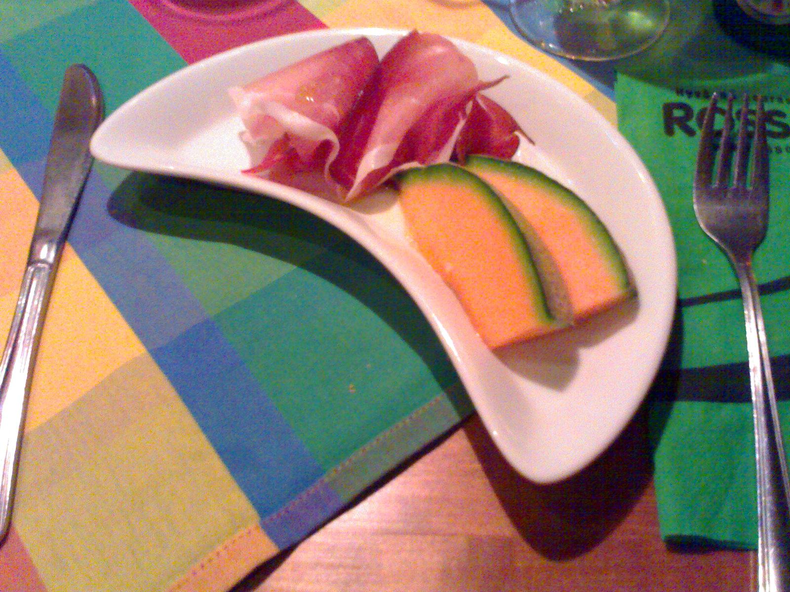 Rosso Hamina, Hamina: Ilmakuivattua kinkkua ja melonia