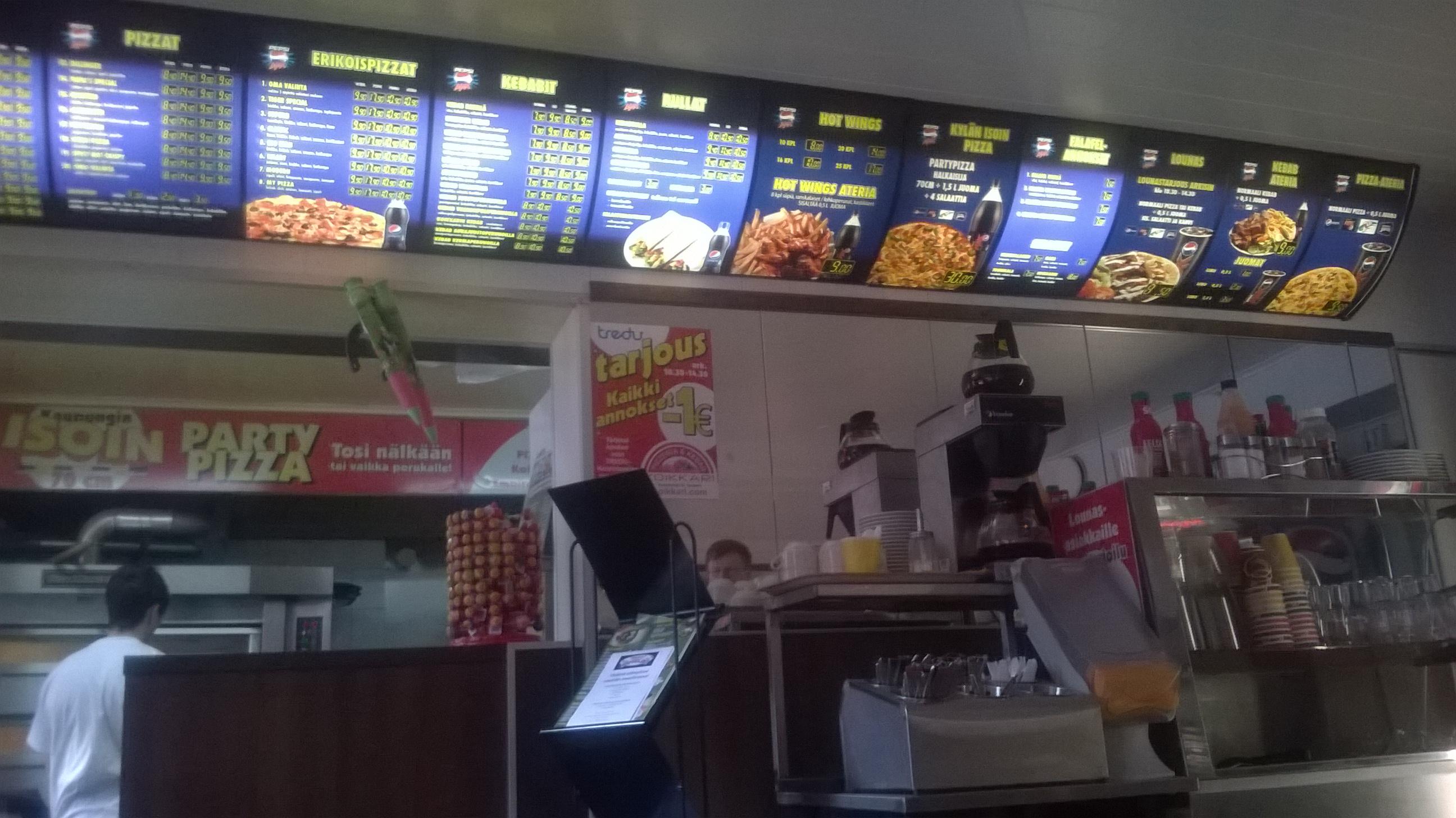 Pizzeria & Kebab Koikkari Koivistonkylä, Tampere