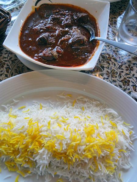 Persian Ravintola, Espoo: Khoreshteh bamieh