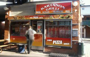 Kartanon Grilli Pizza, Helsinki