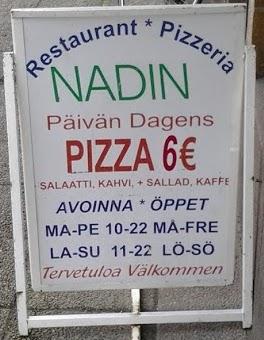 Pizzeria Nadin, Hanko