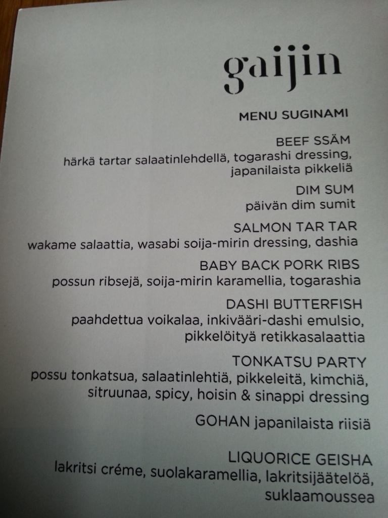 Gaijin, Helsinki