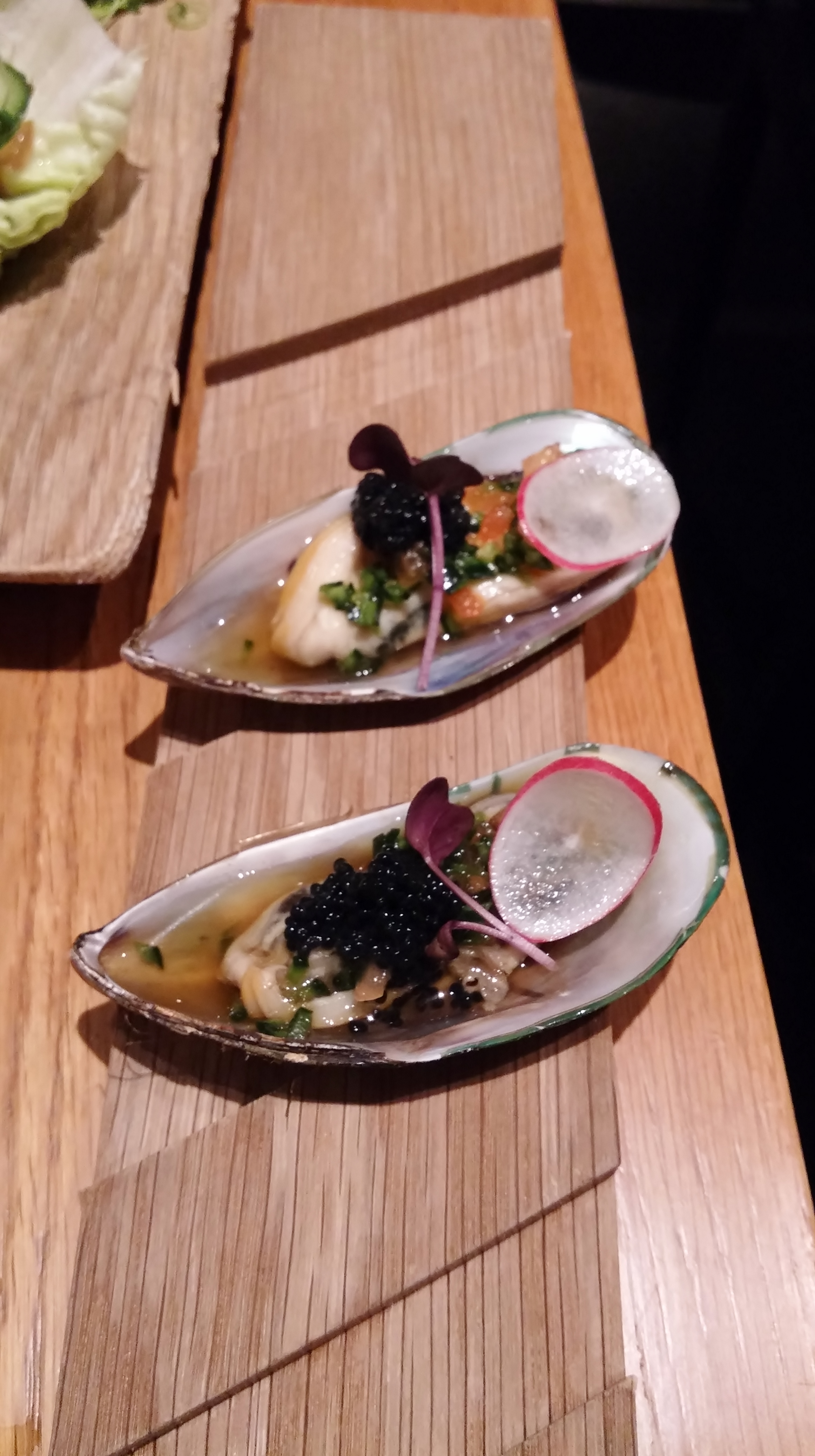 Gaijin, Helsingfors: Mussel & jalapeno