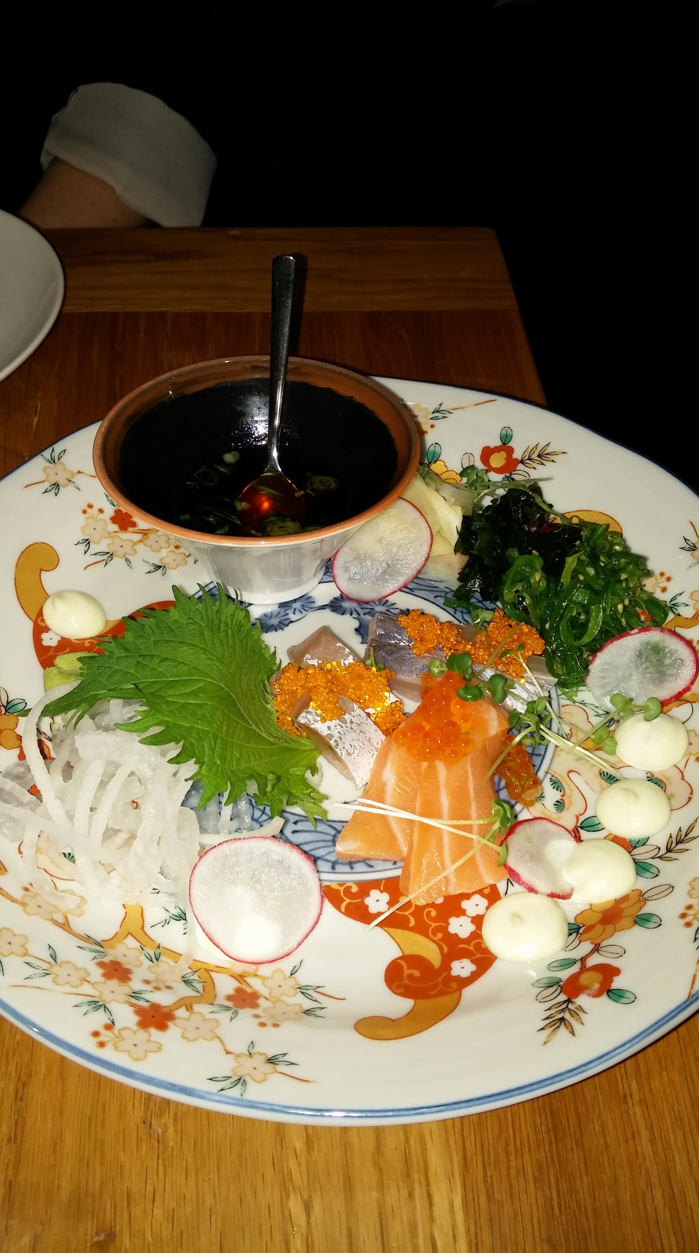 Gaijin, Helsinki: Sashimi tasting