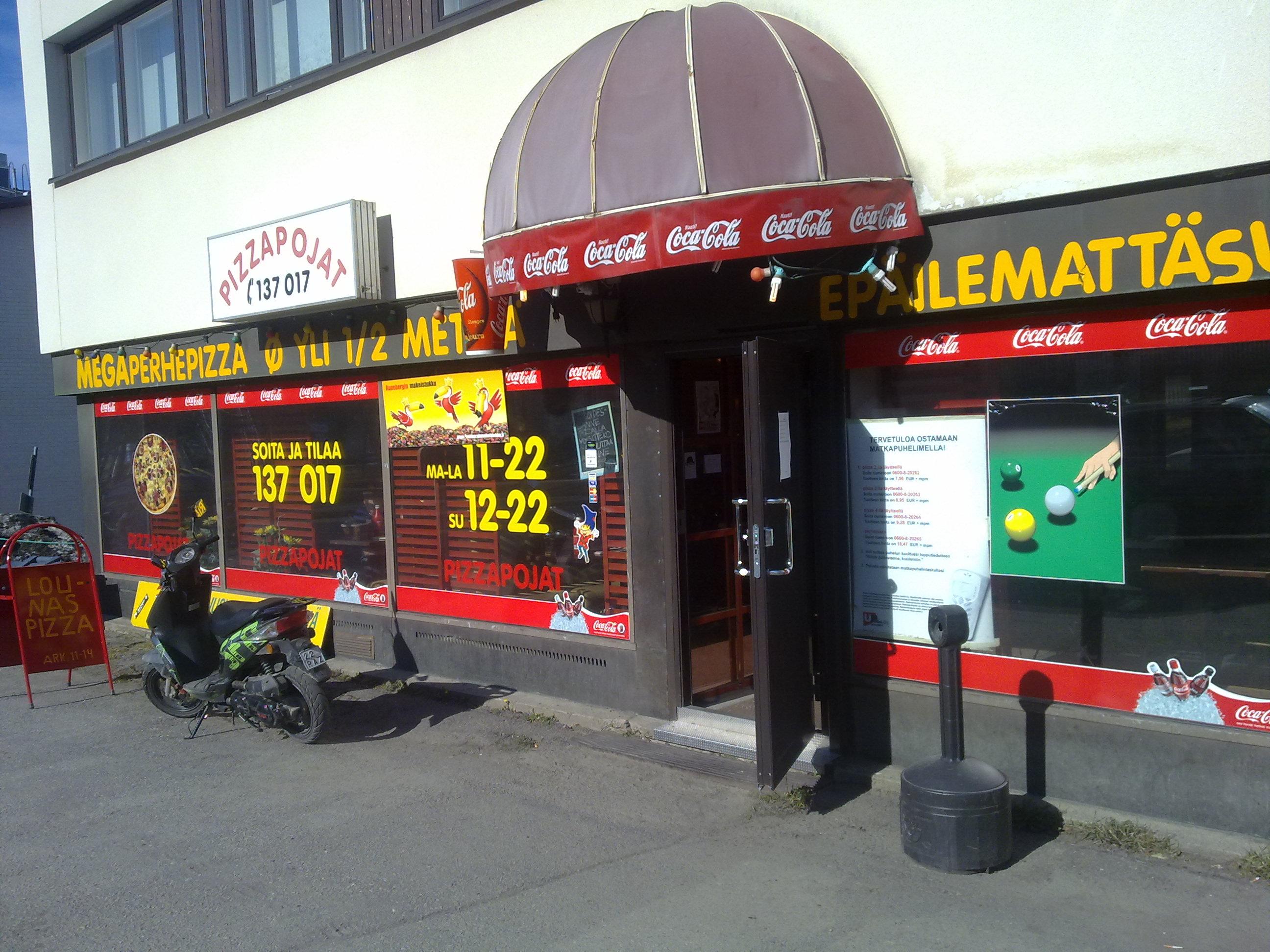 PizzaPojat Niinivaara, Joensuu: Julkisivu