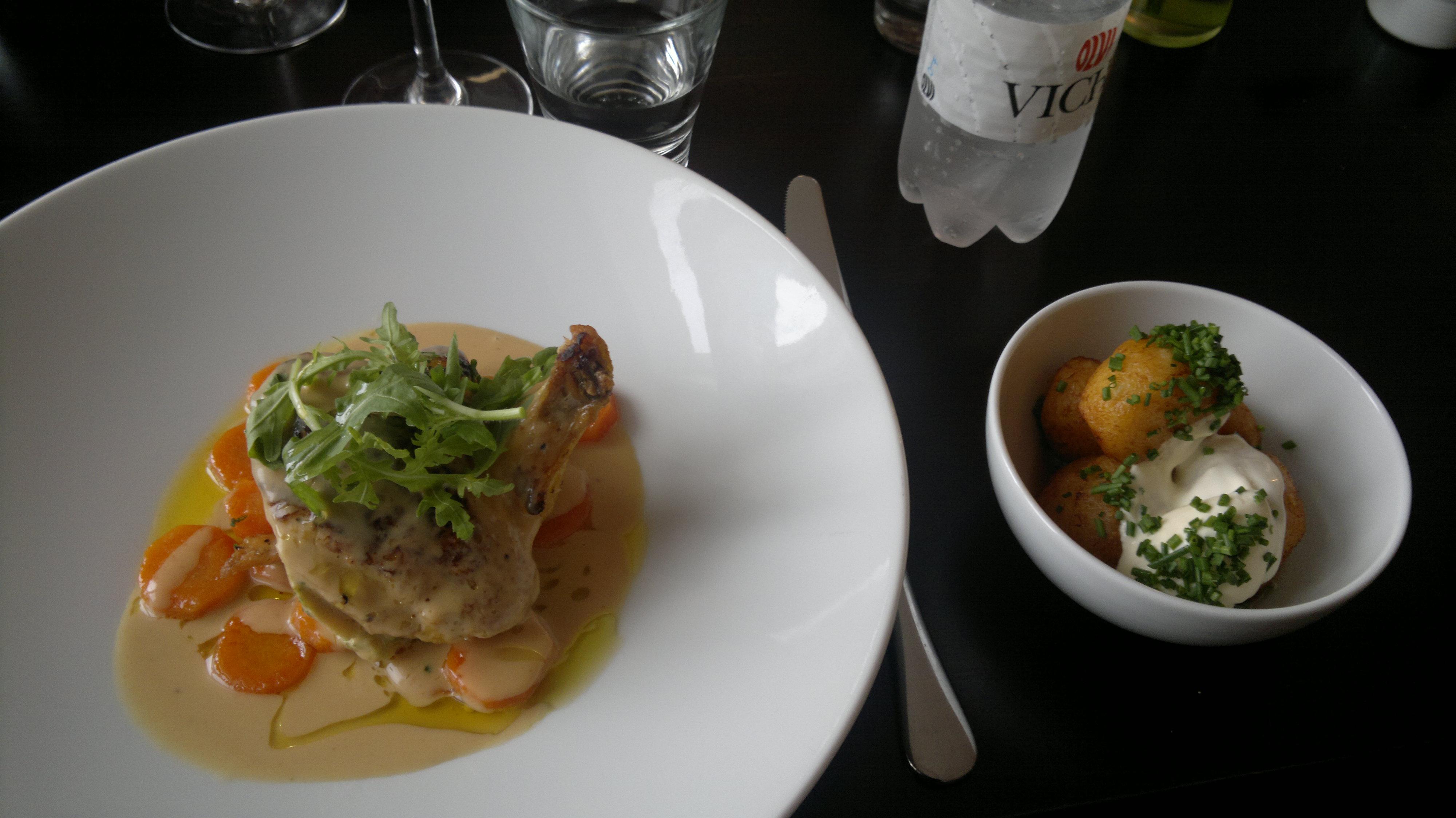 Ravintola Sunn, Helsinki: Maissikana