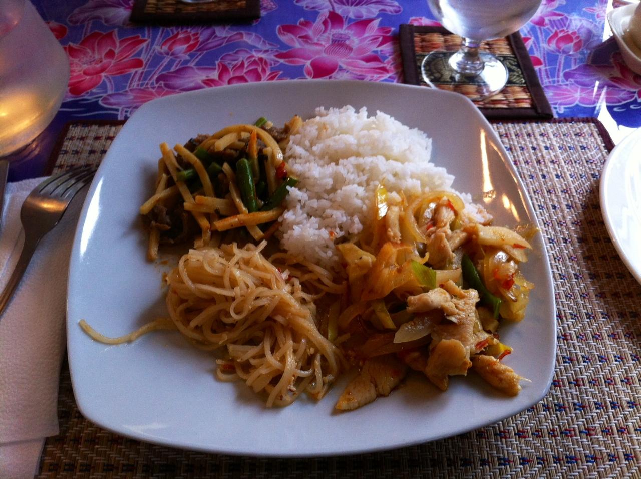 Malai Thai, Riihimäki: Lounasbuffetin antimia