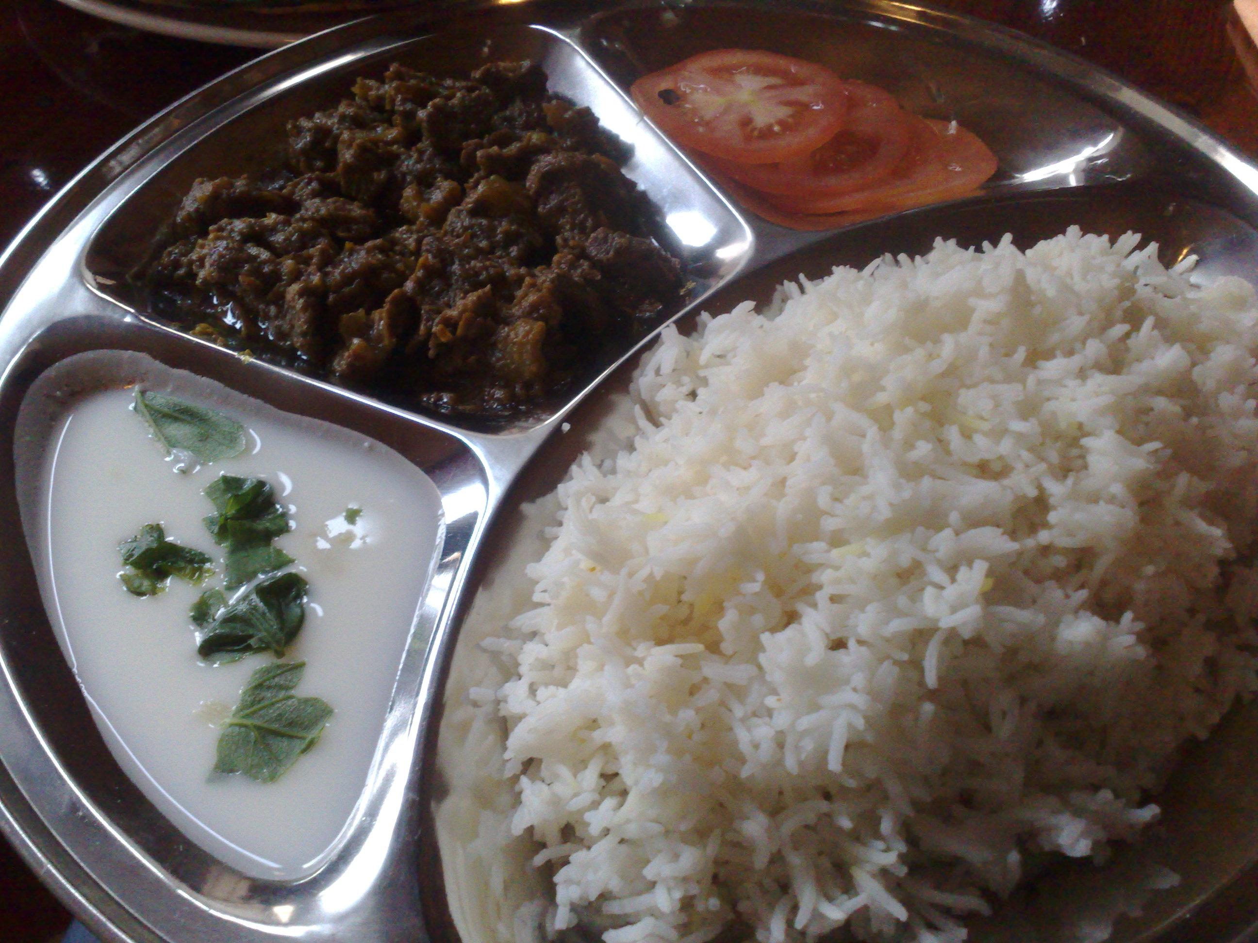 Ravintola Salpimienta, Helsinki: Beef curry - lopulta.