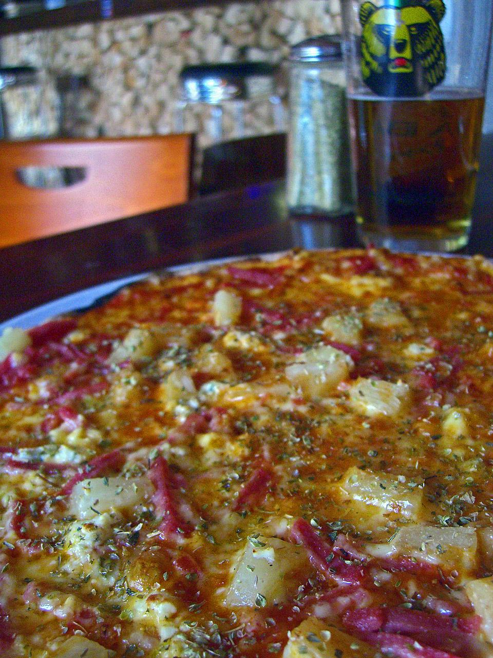 Ravintola Salpimienta, Helsinki: Pizza Americana ja Karhu III