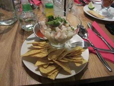 Patrona Modern Mexican Kitchen, Helsinki: Ceviche
