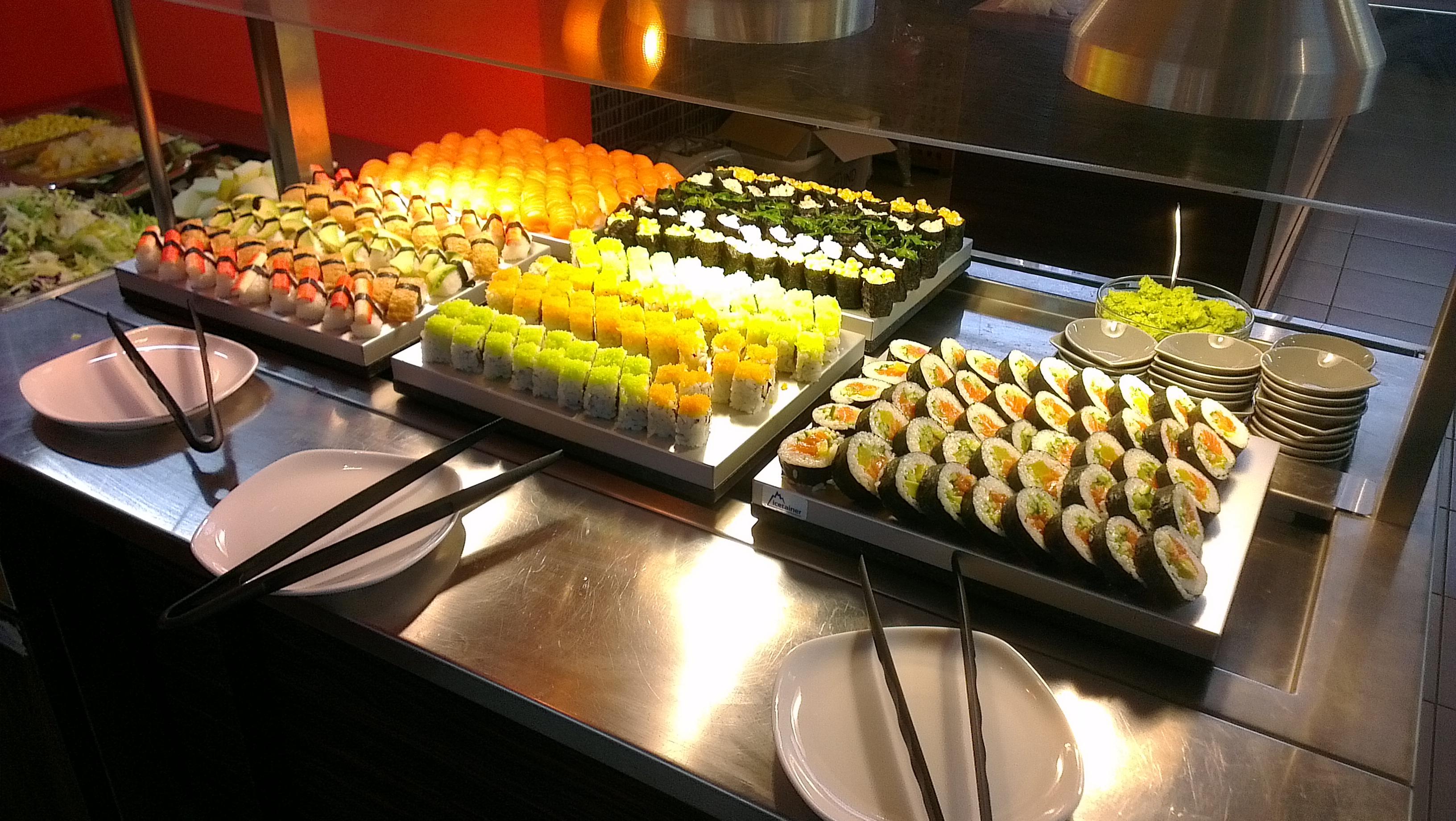 Wok King, Hyvinkää: sushia... taivaallista