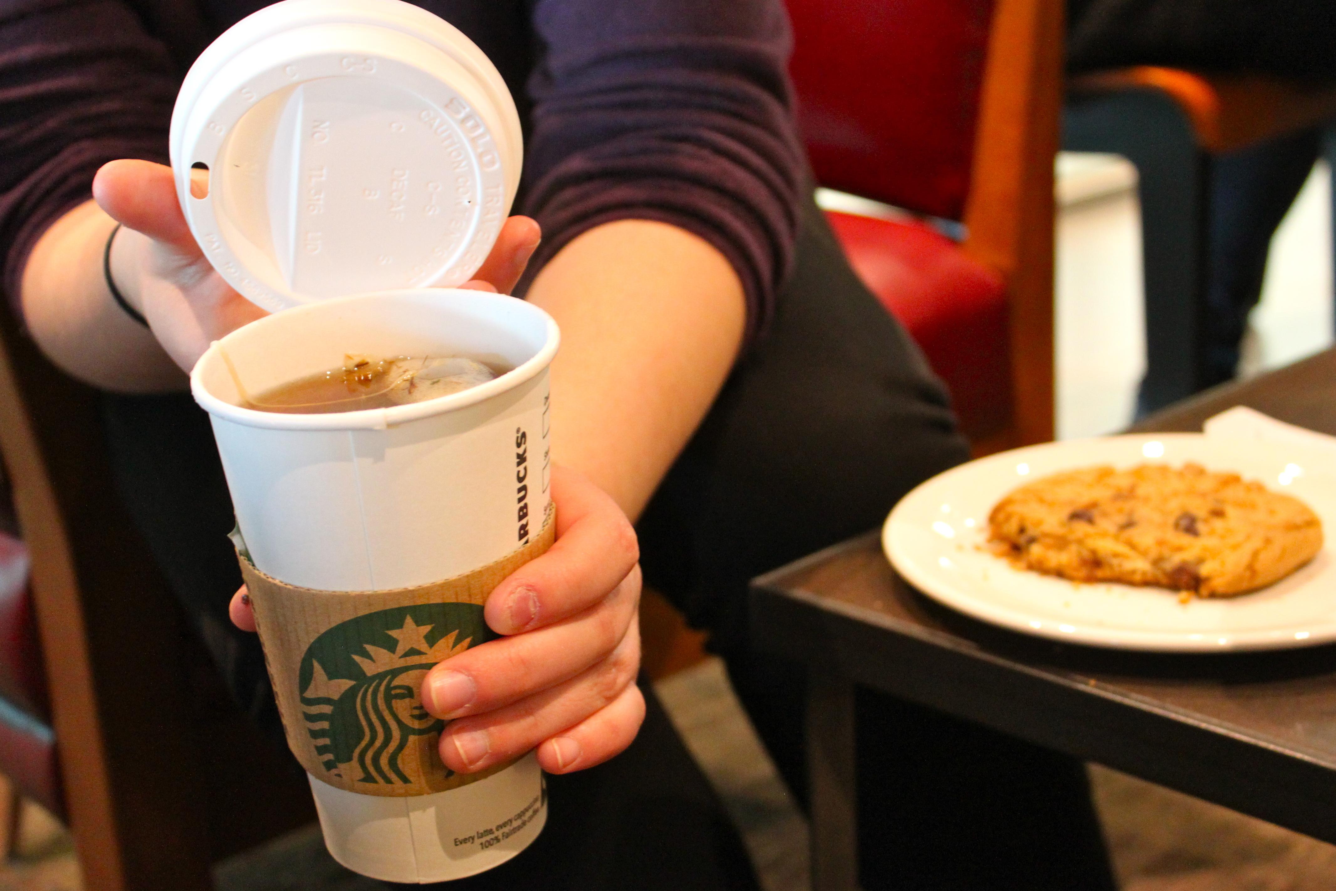 Starbucks, Vantaa: Mukillinen teetä