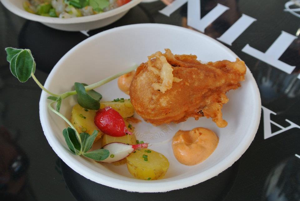 Taste of Helsinki, Helsingfors: Smör: karitsaa frittikuoressa