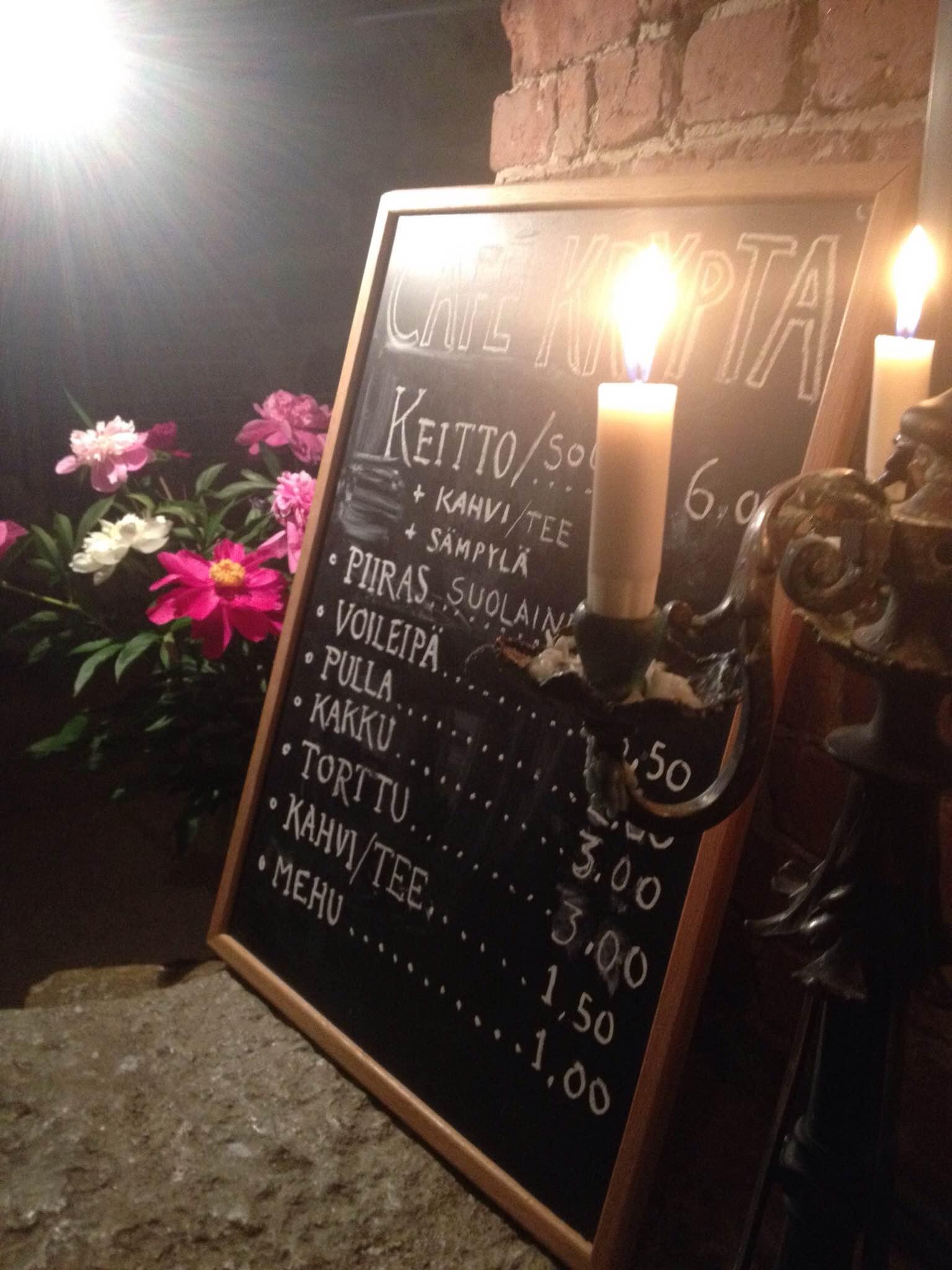 Cafe Krypta, Helsinki