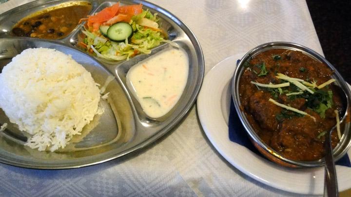 Ravintola Gurans, Helsinki: Päiväntarjous lammasannos