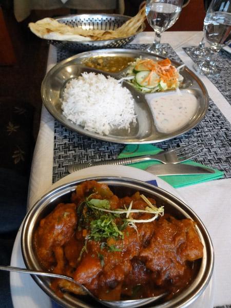 Ravintola Gurans, Helsinki: Päiväntarjous kala-annos