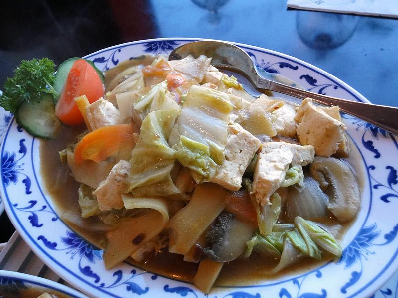 Kong Fu Zi, Helsinki: Curry tofua