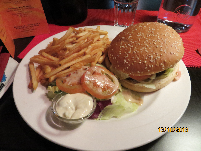 Morrison's Turku, Turku: House´s burger