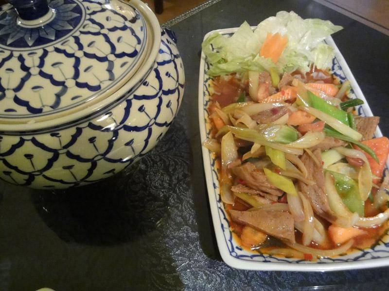Thai Thai - Ravintola, Helsinki: Seitania Chilillä ja Cashew-pähkinöillä