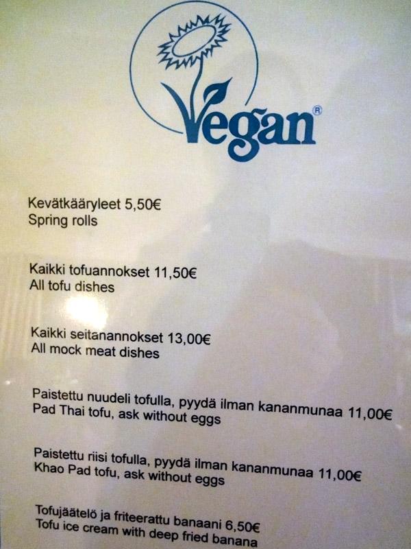 Thai Thai - Ravintola, Helsinki