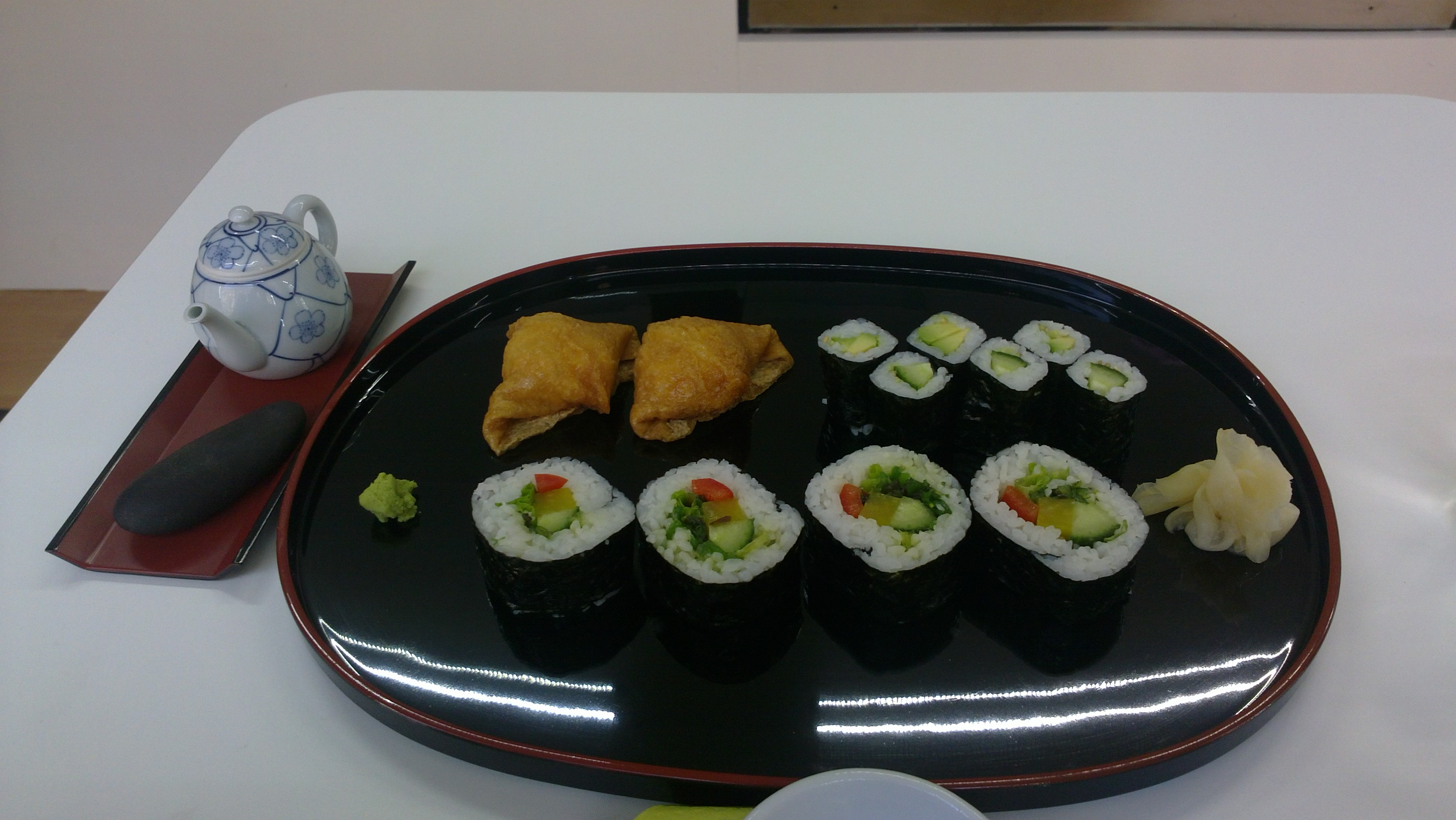 sushi wa.gocoro, Helsingfors: Kasvissetti