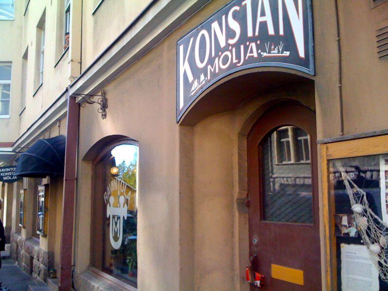 Konstan Möljä, Helsinki