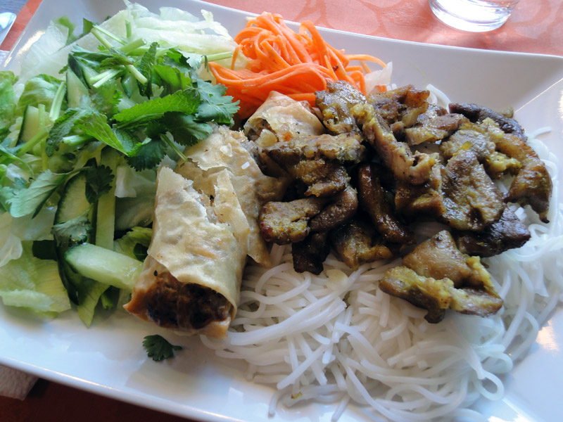 The Wrap and Roll Cafe, Helsingfors: Saigon special