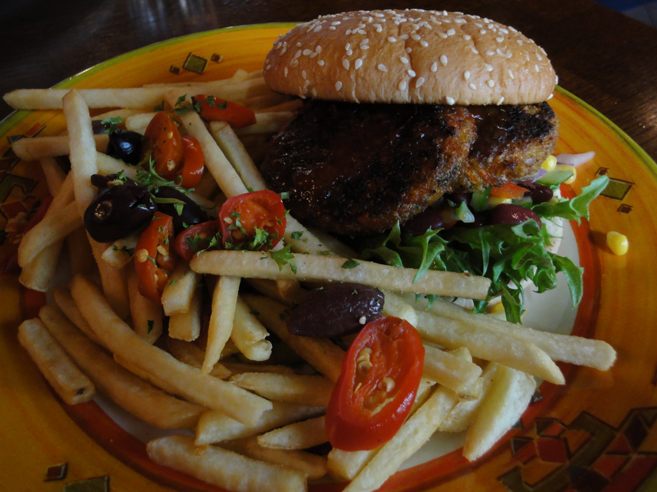 Santa Fe Express, Lahti: Vege Burger