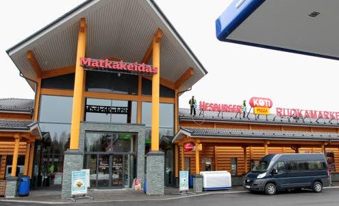Vierumäen Matkakeidas, Vierumäki: Asema ulkoa