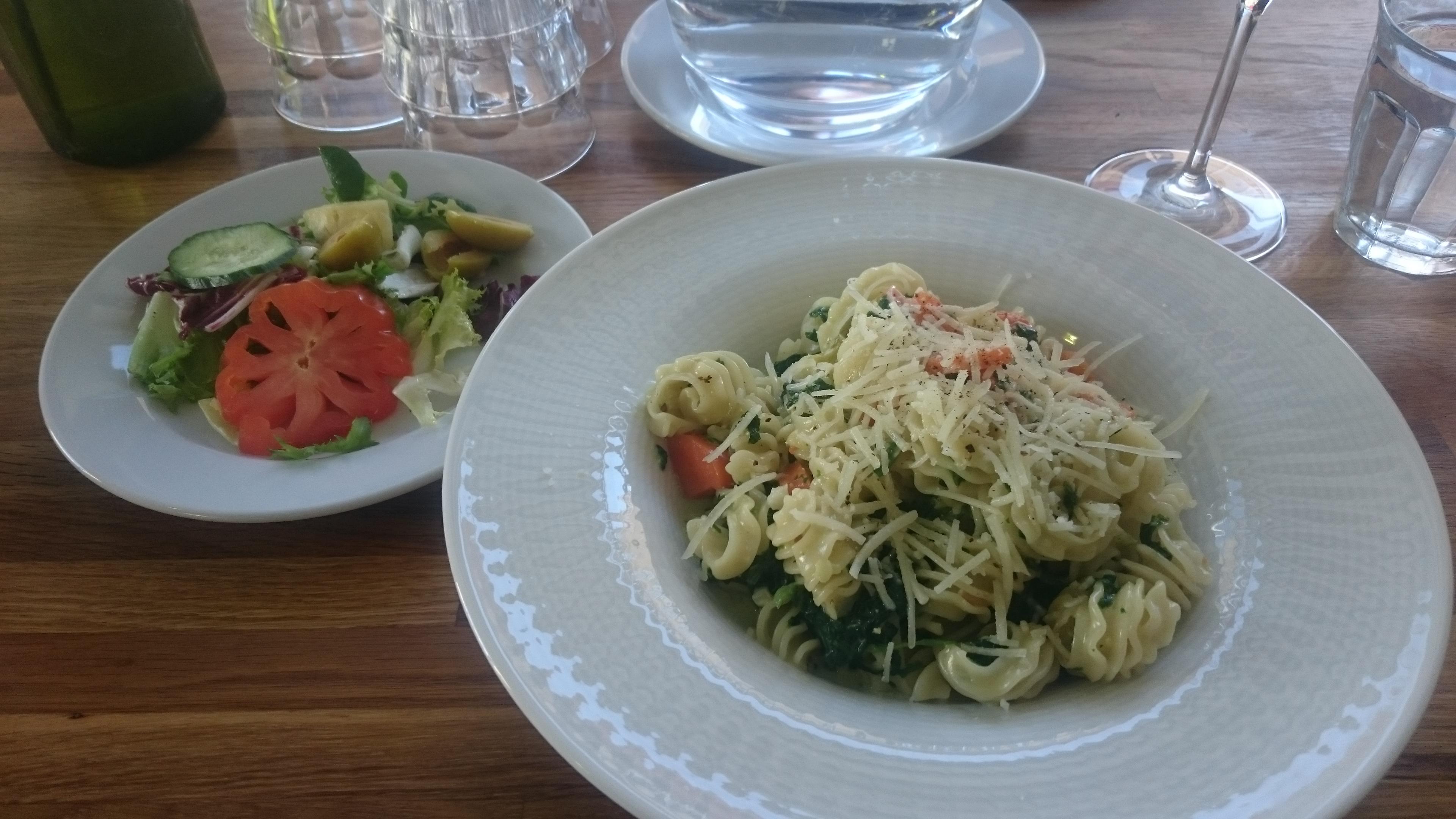 Zum Beispiel, Porvoo: Zum Beispiel -pasta, kasvisversio