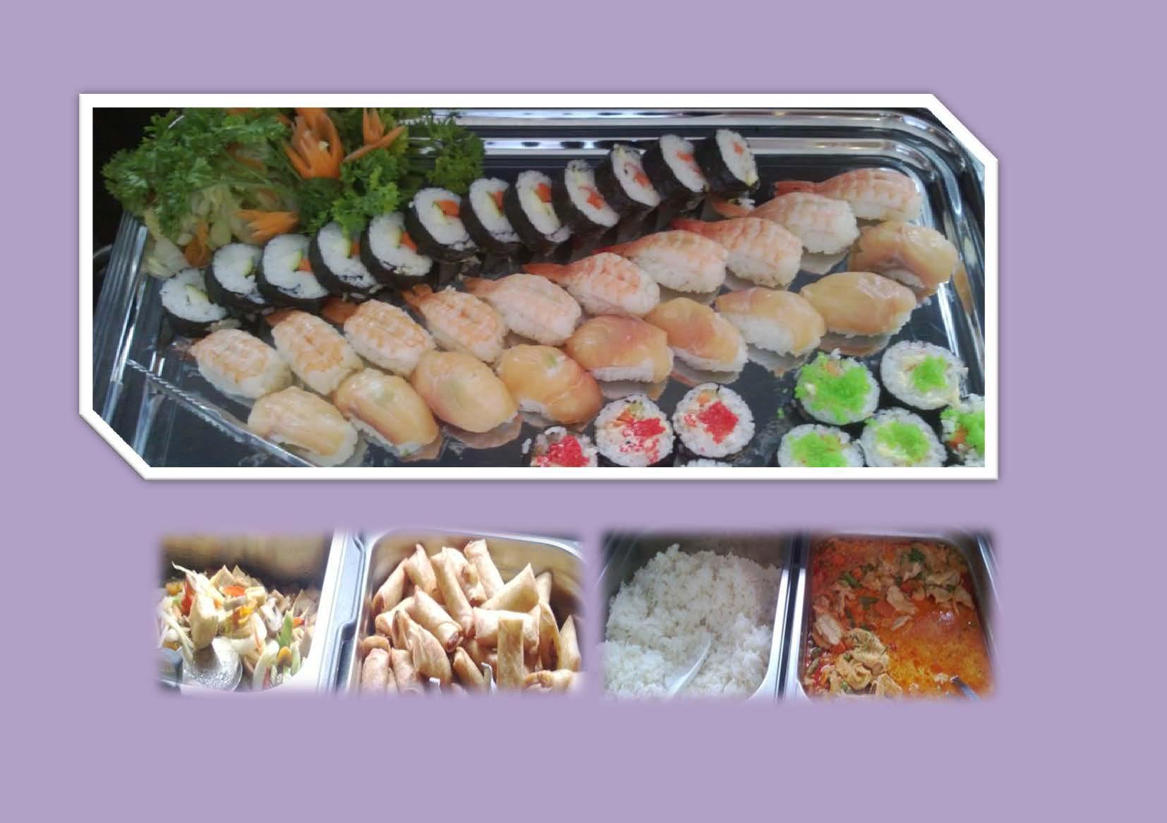 Phad Thai Restaurant, Helsingfors: Osa buffesta