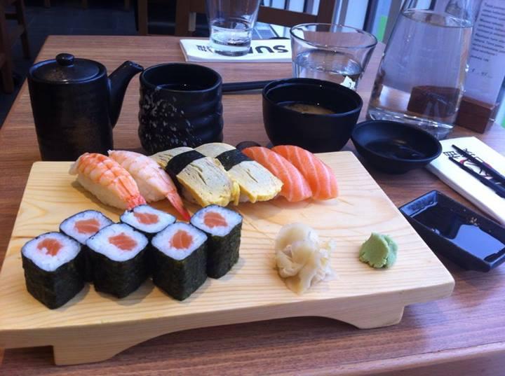 Sumo, Espoo: Keskiviikon lounassetti