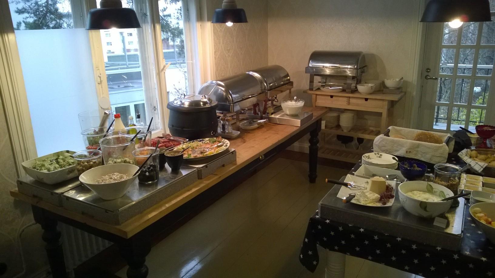 Peroba Cafe, Espoo: Valikoimaa