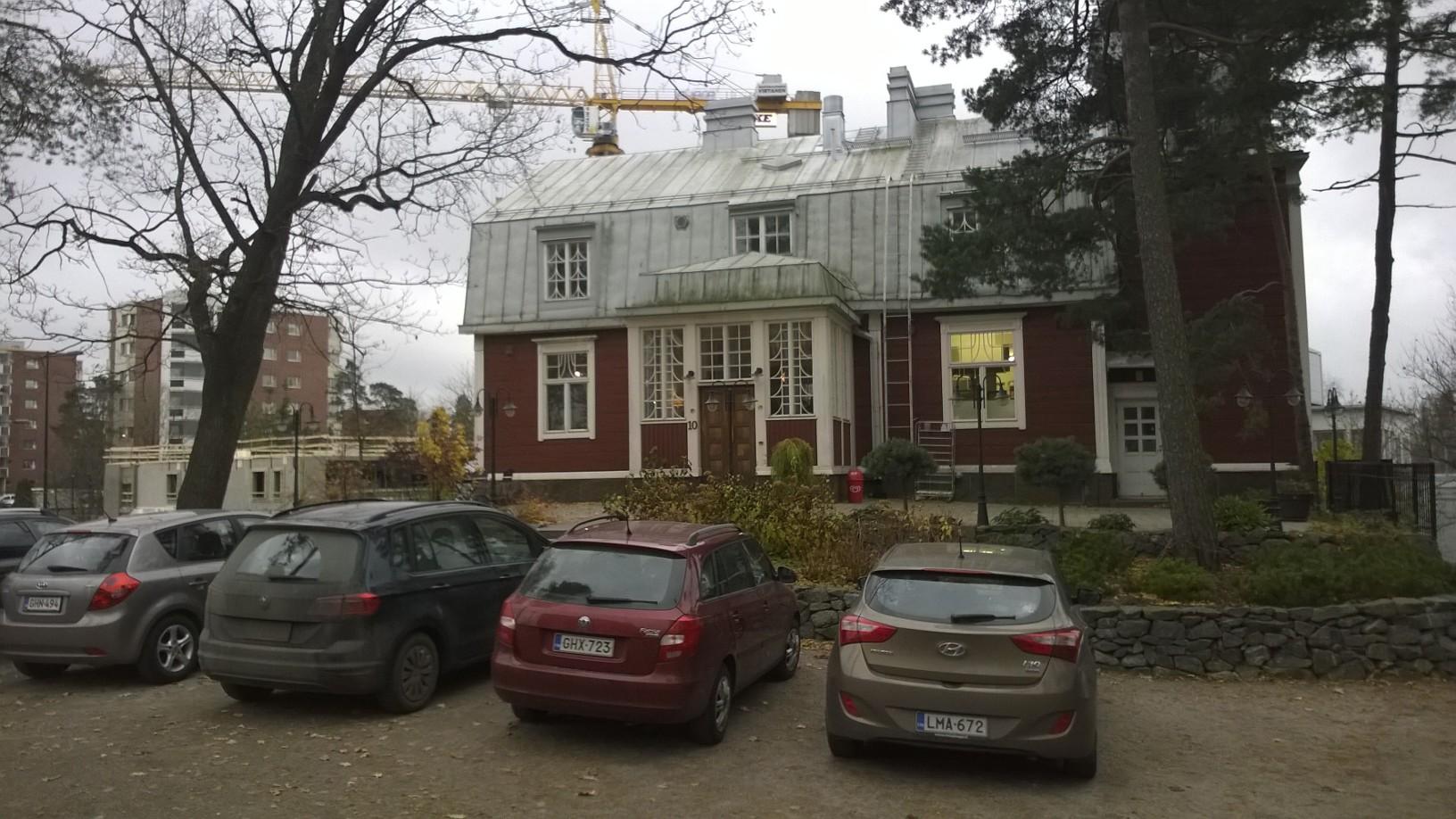 Peroba Cafe, Espoo: Ulkoa päin