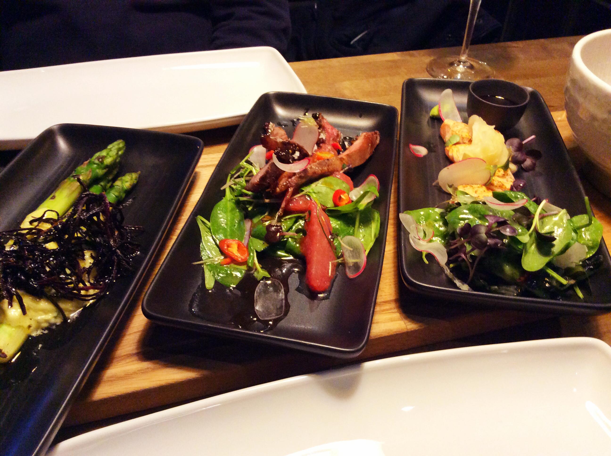 Treffi Pub & Bistro, Helsinki: Parsaa, ankkaa, paahdettu sashimi