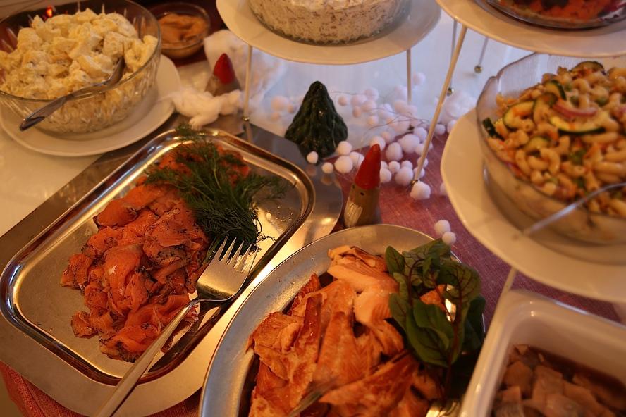 Ravintola kahvila Katrianna, Kerimäki: Joulupöytää 2014