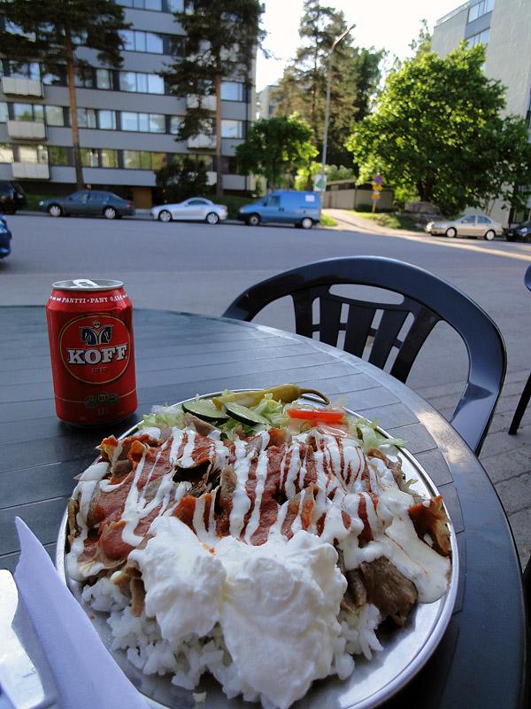 Golden Pizza Kebab, Helsinki: Iskenderkebab
