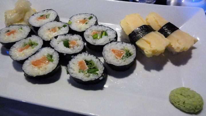 Hanko Sushi Kannelmäki, Helsinki: yakishake makit & tamago nigirit