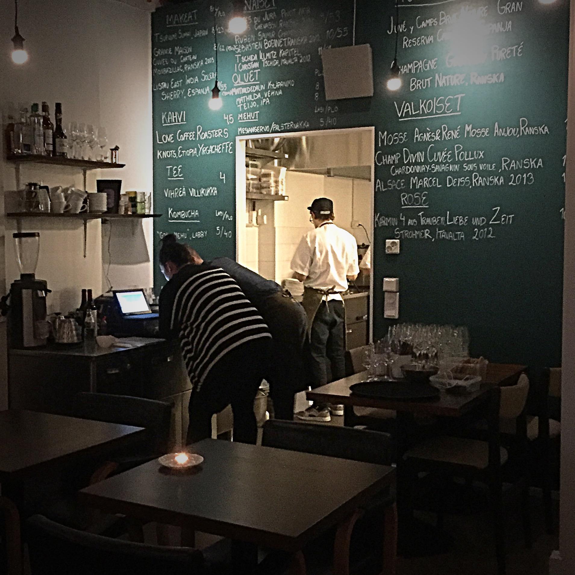 Ravintola Grön, Helsinki
