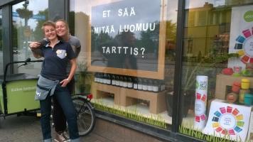 Ruohonjuuri deli, Tampere, Tampere