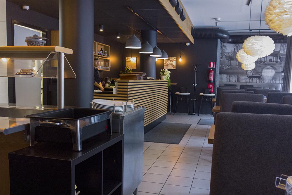 Yangtze Kiinalainen Ravintola, Turku: Siisti yleisilme